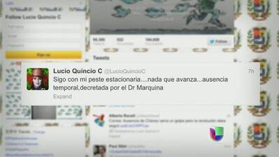 """Lucio Quincio, el tuitero acusado de terrorista: """"Mi teclado es duro de matar"""""""