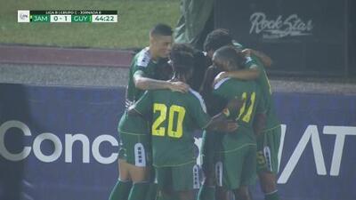 ¡Goool de Guyana! Por fin se abre el marcador   Jamaica 0 - 1 Guyana   CONCACAF Nations League - J 6   TUDN
