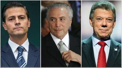 México, Brasil y Colombia preparan elecciones presidenciales para este 2018
