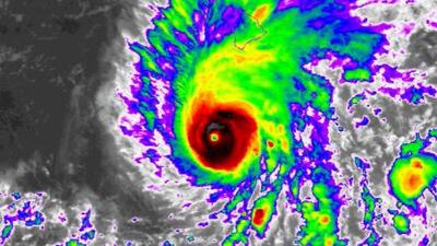 En un minuto: el huracán Lane amenaza a Hawaii, el primero en casi 30 años