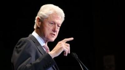 Si Bill Clinton fuera presidente