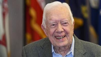 Jimmy Carter se convierte en el expresidente más longevo en la historia de EEUU