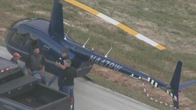 Helicóptero realiza aterrizaje de emergencia en el condado Montgomery