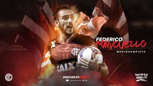 Federico Mancuello, oficialmente jugador del Toluca