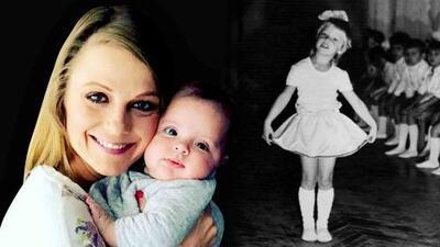 Ana Layevska quiso saber si su hija heredó su talento musical... pero la pequeña tenía otros planes