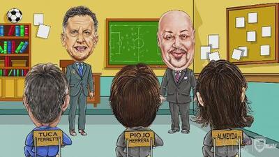 La Escuelita: el 'Perro' Bermúdez y sus alumnos se despidieron de Juan Carlos Osorio