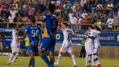 León inicia en buena forma la Copa MX al vencer 2-1 al Atlético San Luis