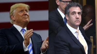 Trump acusa a su exabogado Michael Cohen de inventar hechos para lograr un acuerdo judicial