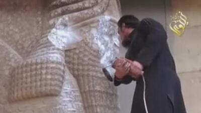 El Estado Islámico está destruyendo importantes tesoros arqueológicos de la humanidad