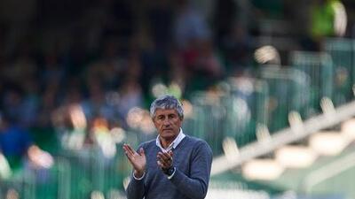 """Quique Setién: """"El Celta está herido y hemos podido hacer daño"""""""