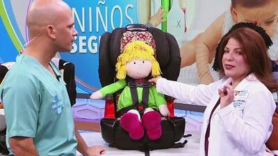 En el auto o en casa, consejos importantes a tomar en cuenta para tener seguro a tu bebé
