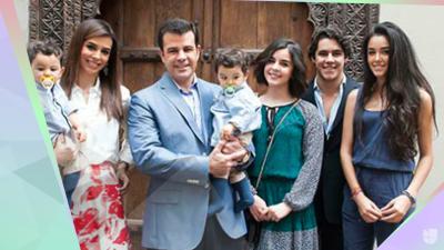 El día que Bibi Gaytán, Eduardo Capetillo y sus hijos nos abrieron la puerta de su vida