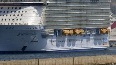 Muere un joven de 16 años en un crucero al intentar entrar a su camarote desde el balcón
