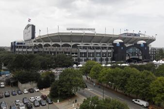 Así es el Bank of America Stadium de Charlotte, escenario de una batalla por la Copa Oro