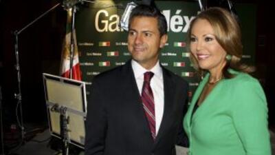 Peña Nieto en entrevista con María Elena Salinas