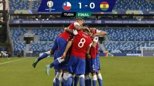 Con un 'great goal', el inglés Ben Brereton da triunfo a Chile