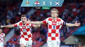De la mano de Modric, Croacia vence a Escocia y avanza a Octavos