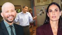 Actor de 'Two and half men' le aclara a Demi Moore que ella no le quitó la virginidad