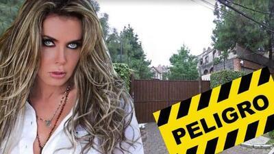 Sabine Moussier podría perder su casa (otra vez) y culpa a su exesposo Jorge Peralta