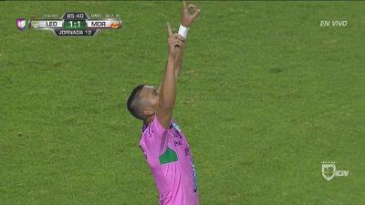 Apareció Walter González y llegó el empate en León