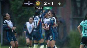 América vence a Santos y suma 18 de 18 puntos disputados
