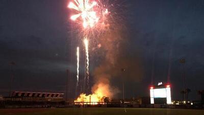 Estadio de Ligas Menores de los Mets sufre incendio por pirotecnia