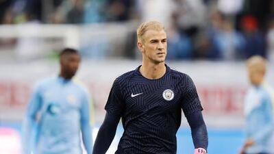 Guardiola deja abierta la puerta para la salida de Joe Hart del Manchester City