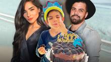 """Alejandra Espinoza celebra los 6 años de su hijo Matteo y él dice que ya es un """"medium boy"""""""