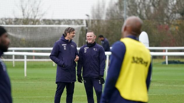 El 2 de enero debutará Rooney con Derby County
