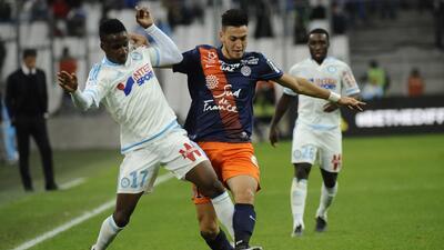 Marsella rescata el empate de local contra Montpellier