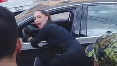 En video: el dramático momento cuando Sharis Cid pide desesperada una ambulancia para su pareja baleada