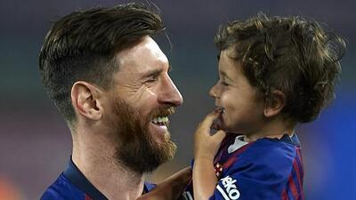 Mateo Messi regaña a Leo por decir que le va a los rivales del Barcelona