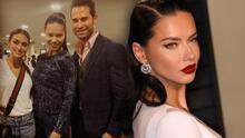 Supermodelo Adriana Lima presume fotografía con sus nuevos amigos: Sebastián Rulli y Renata Notni