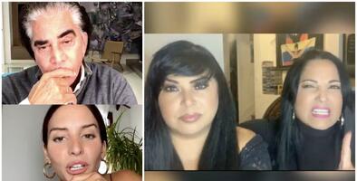 Génesis Rodríguez se confiesa con 'El Puma', un día después de la advertencia de sus hermanas Liliana y Lilibeth