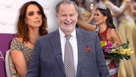 Raúl dice que Lupita Jones metió la pata al felicitar a la Miss Universo mexicana