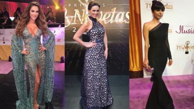 Así desfilaron los famosos en la alfombra morada de Premios TVyNovelas 2018