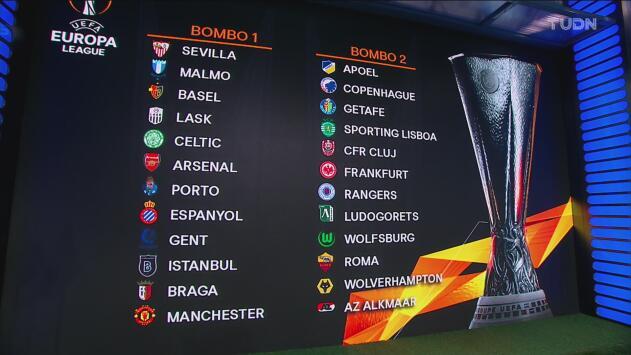 Equipos que jugarán los dieciseisavos de final de la Europa League