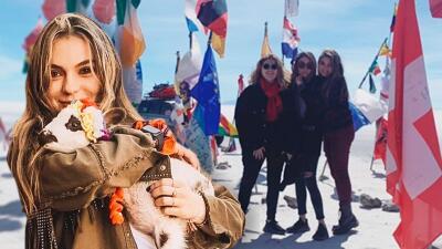 Las hijas de Angélica Rivera disfrutan de sus vacaciones por Perú y Bolivia junto a su papá 'El Güero' Castro