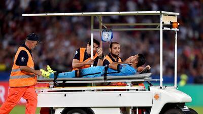 """Luis Enrique dice que la lesión de Rafinha """"tiene mala pinta"""""""