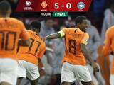 Holanda golea a Estonia sin mayor complicación