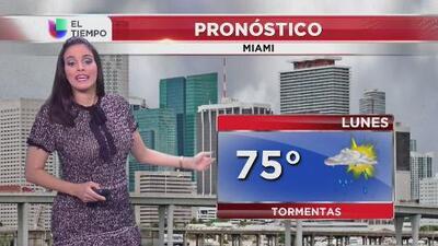Frente frío bastante fuerte se avecina al norte de la Florida