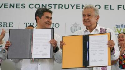 Estas son las claves del acuerdo firmado entre México y Honduras para disminuir el flujo migratorio en la región