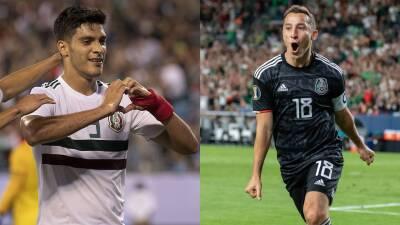 Andrés Guardado y Raúl Jiménez en el top 10 de goleadores de México en la Copa Oro