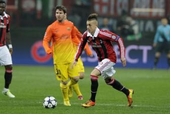 Milan frenó a Barcelona en la ida