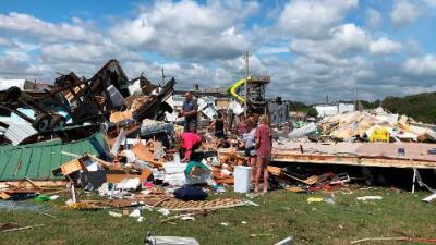 Devastación e inundaciones: el saldo del huracán Dorian a su paso por las Carolinas