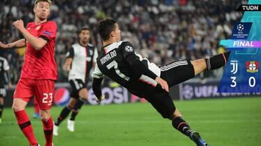 Juventus golea para liderar su sector en Champions League