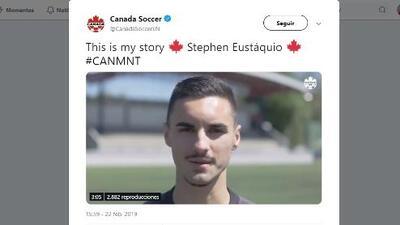 Piel celeste y corazón hoja de maple: Stephen Eustáquio de Cruz Azul jugará con Canadá