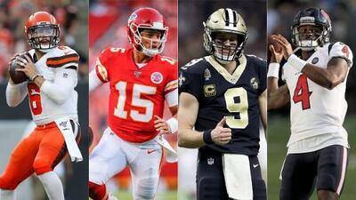 Los 10 quarterbacks que debes considerar para tu Draft del Fantasy Football