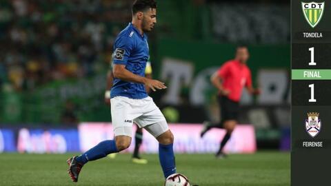 'Pollo' Briseño marca y en el empate del Feirense