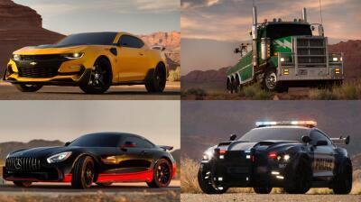 Conoce a los autos de 'Transformers: The Last Knight'